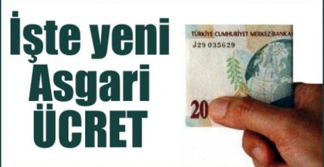 2013 Brüt Asgari Ücret ve 2013 Net Asgari Ücret Tutarları