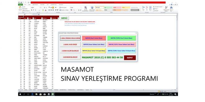 Ortak Sınav Öğrenci Yerleştirme Programı 12/01/2018