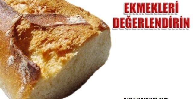 Bayat Ekmekle Yapılabilecek 15 Yemek ve 5 Tatlı